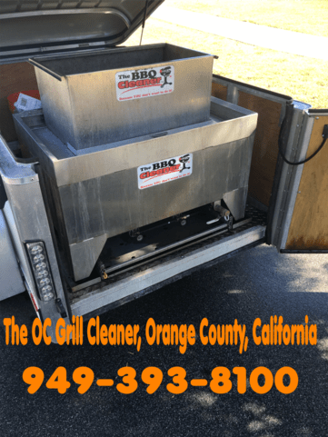 The OC Grill Cleaner BBQ Cleaning Service